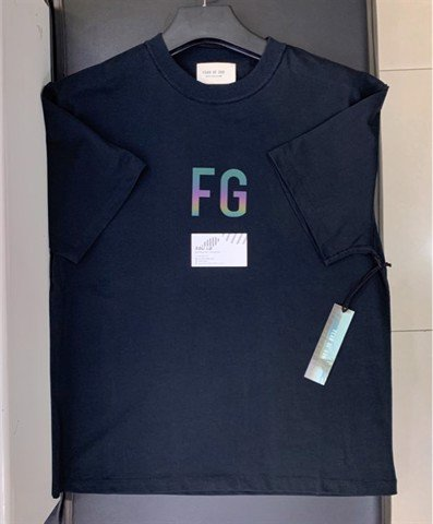 FOG monogram print cotton T-shirt (1:1)