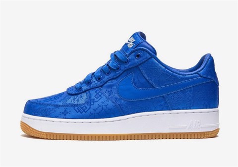CLOT x Nike Air Force 1 Blue (PK)