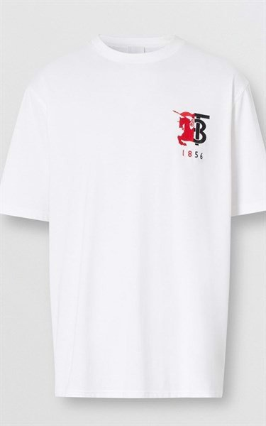 BBR Contrast Logo Graphic Cotton T-shirt (1:1)