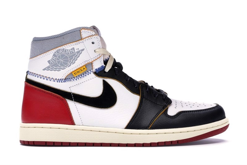 Jordan 1 Retro High Union Los Angeles Black Toe (1:1)