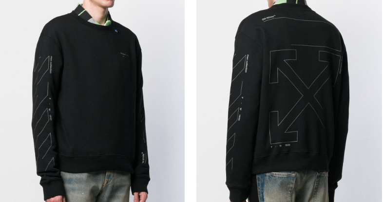 OFF-WHITE Diag sweatshirt (1:1)