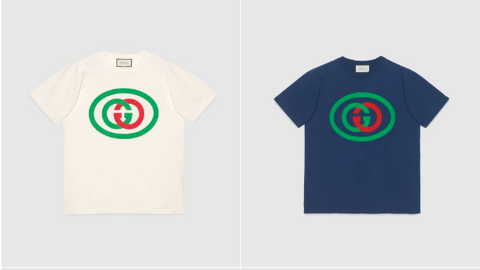 GUCCI T-shirt with Interlocking G (1:1)
