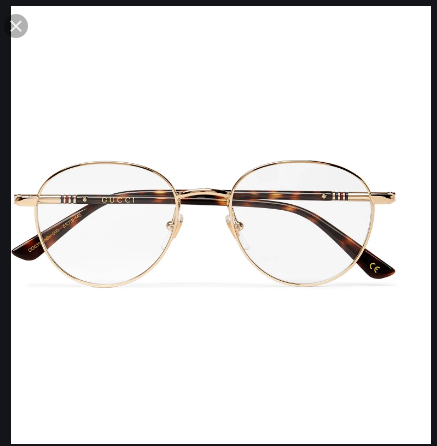 GUCCI GLASSES round frame