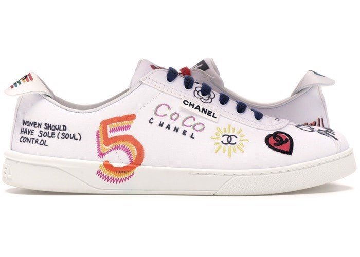 Chanel Sneakers Pharrell White Multi-Color (1:1)
