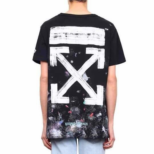 OFF WHITE GALAXY T-SHIRT (1:1)
