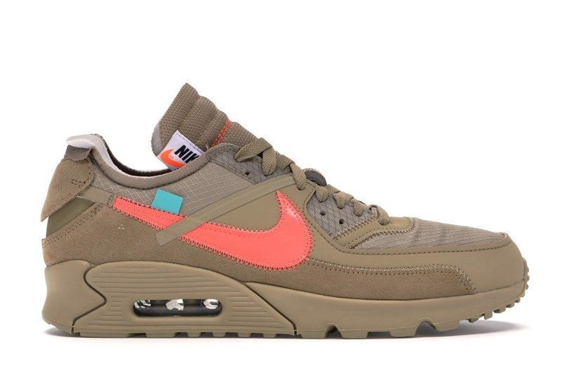 Air Max 90 OFF-WHITE Desert Ore PK