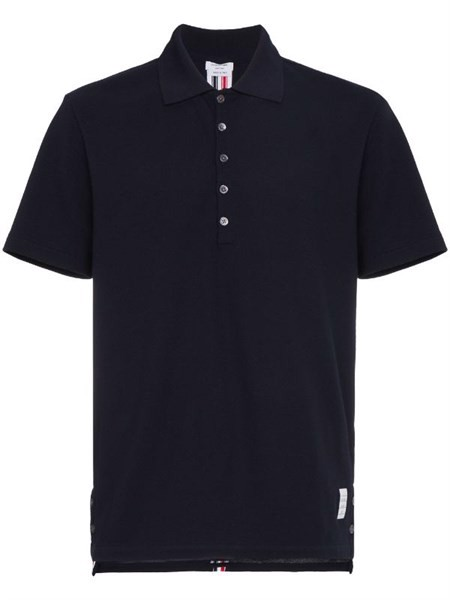 CENTER-BACK STRIPE PIQUÉ POLO Thom Browne (best)