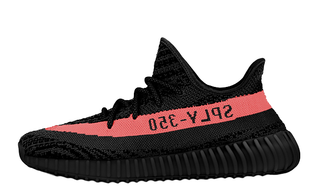 Yeezy Boost 350 V2 Black/Red (1:1)