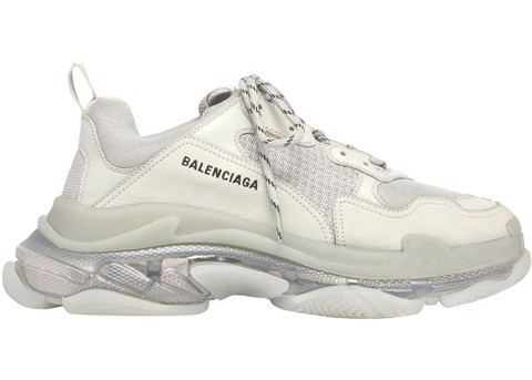 Balenciaga Triple S Clear Sole Grey (PK)