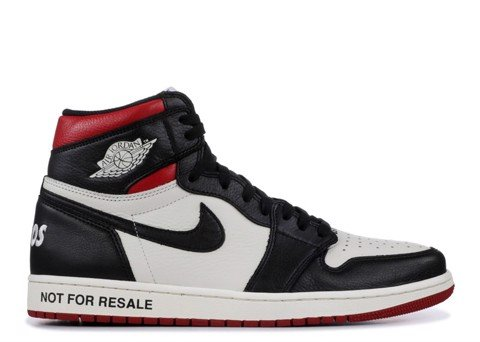 AIR JORDAN 1 RETRO HIGH OG NRG ''NOT FOR RESALE'' RED (PK)