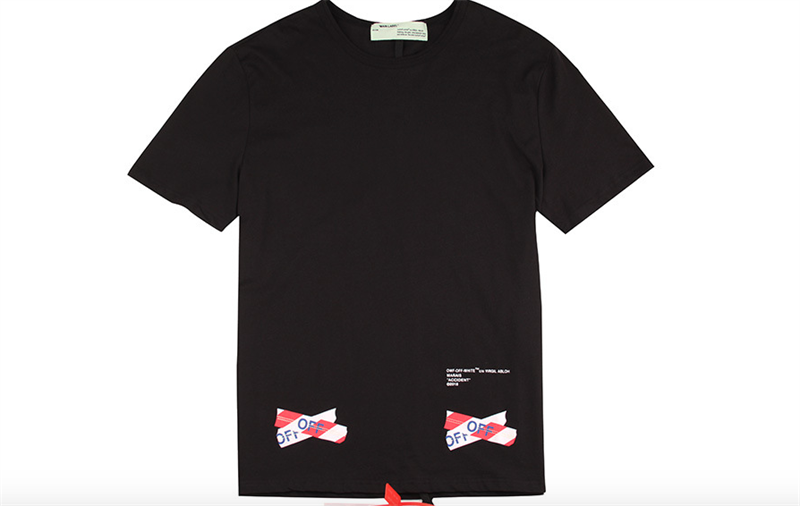OFF WHITE RED CROSS T-SHIRT