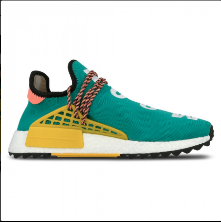 PHARRELL WILLIAMS X ADIDAS NMD HU TRAIL 'SUN GLOW'