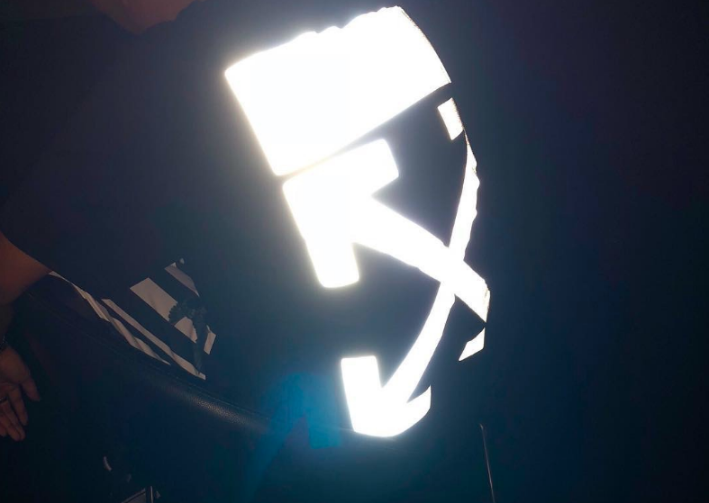 "Off-White™ c/o Virgil Abloh ""REFLECTIVE T-SHIRT"