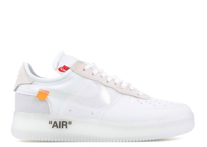 THE 10 : NIKE AIR FORCE 1 LOW ''OFF WHITE'' (PK)