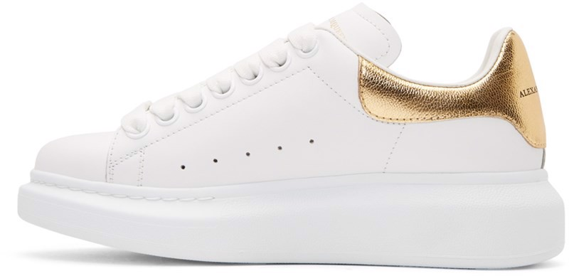 Alexander McQueen White Gold Metallic (1:1)