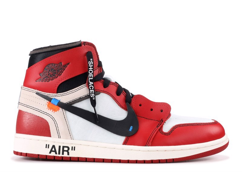 THE 10: AIR JORDAN 1 ''OFF-WHITE'' (PK)