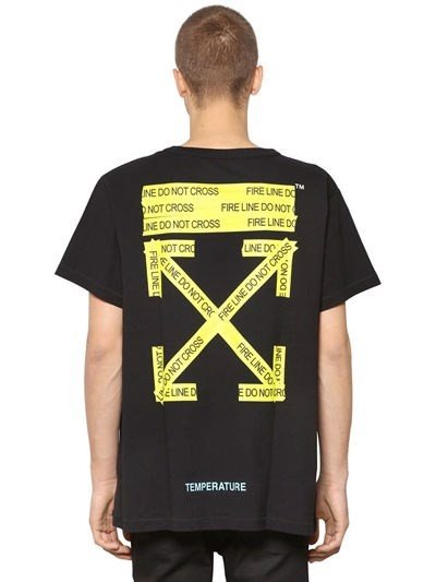 Off White Firetape S/s T-SHIRT 2018