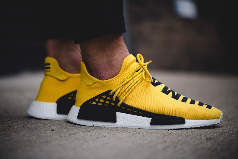 PHARRELL X ADIDAS NMD ''HUMAN RACE'' YELLOW (1:1)