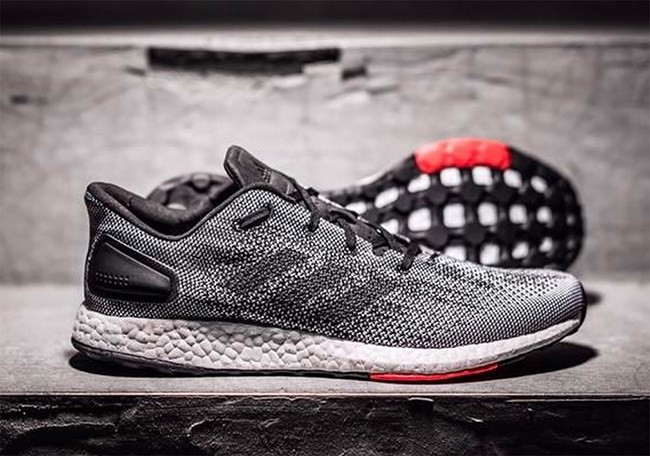 ADIDAS PURE BOOST DPR grey (1:1)