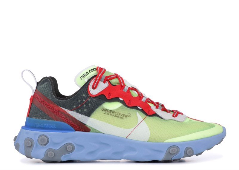 NIKE REACT ELEMENT 87 ''UNDERCOVER'' volt red black (1:1)