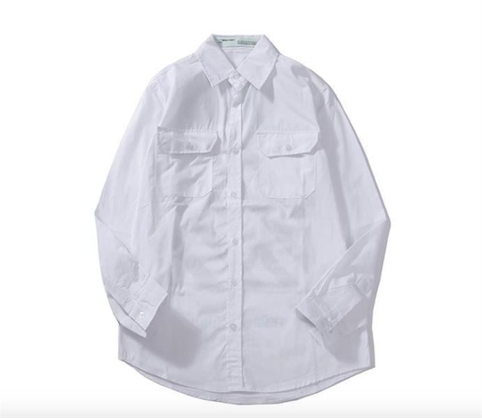 OFF WHITE TEMPURATURE white shirt