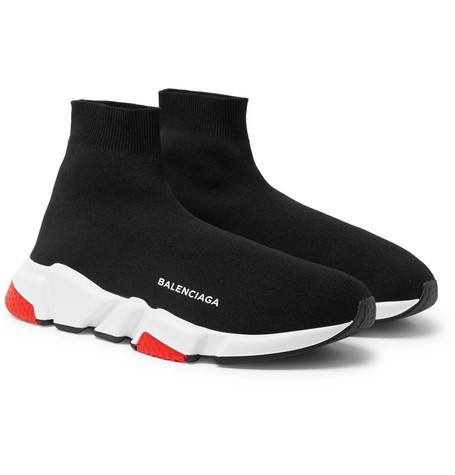 Balenciaga Speed Trainers 2018 BLACK/RED (1:1)
