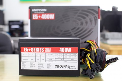 Andyson E5+ 400W - A.PFC Single Rail True Power