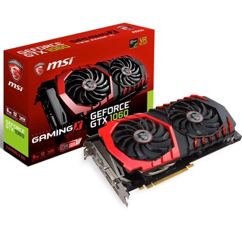 MSI GTX 1060 Gaming X 6GB 192bit