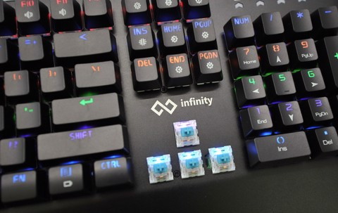 Infinity Champion Rainbow Led RGB Blue Switch