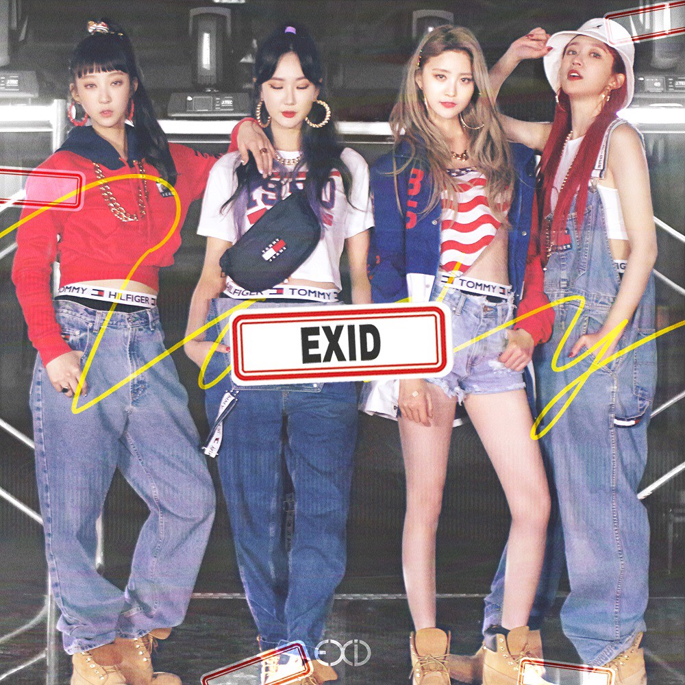 exid 2nd single album do it tomorrow