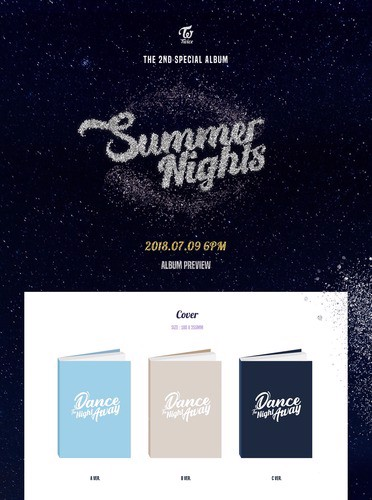 twice summer nights duoc chon ver