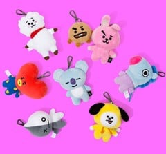 bt21 official bag charm doll