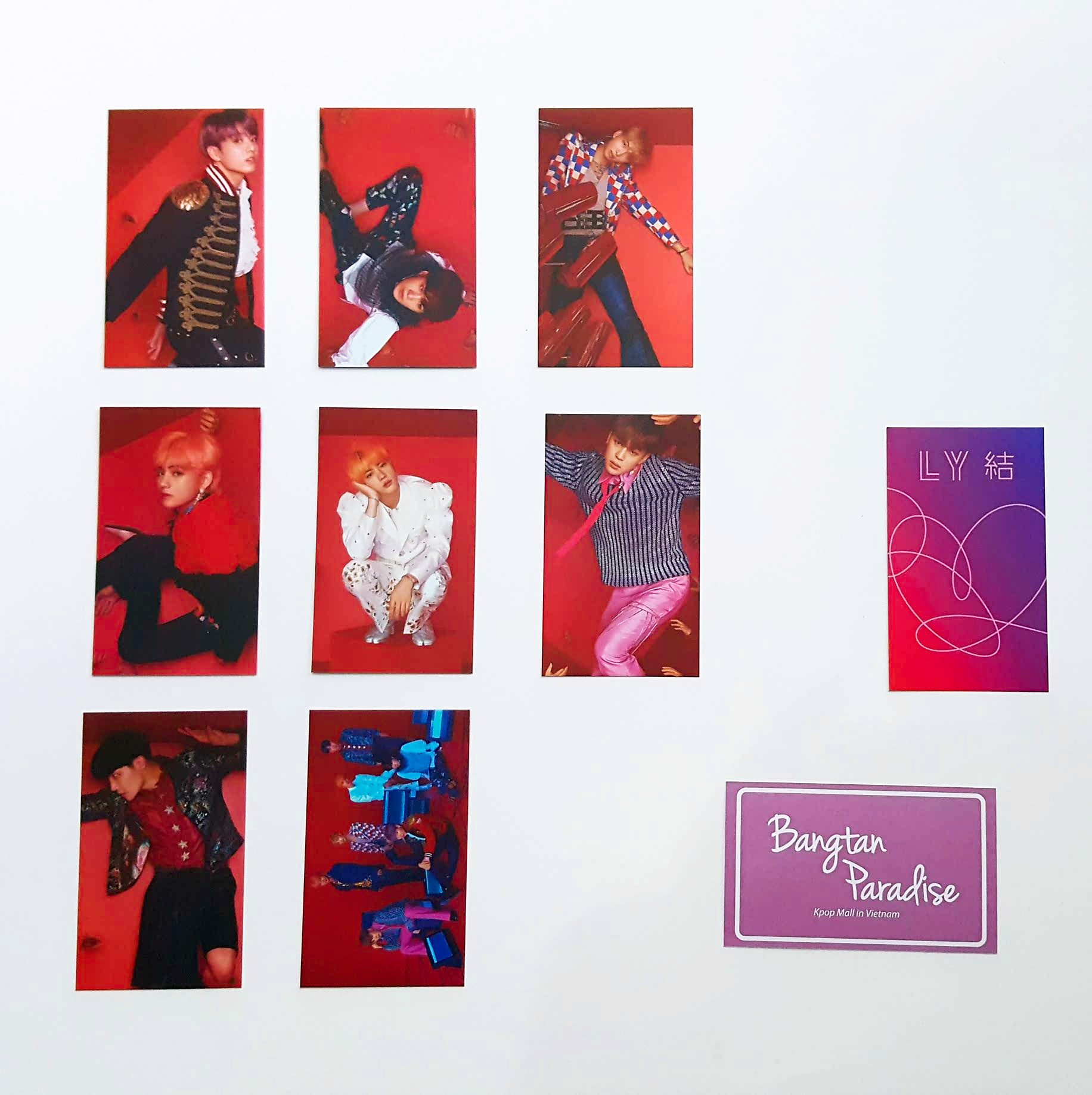 set photocard answer ver s