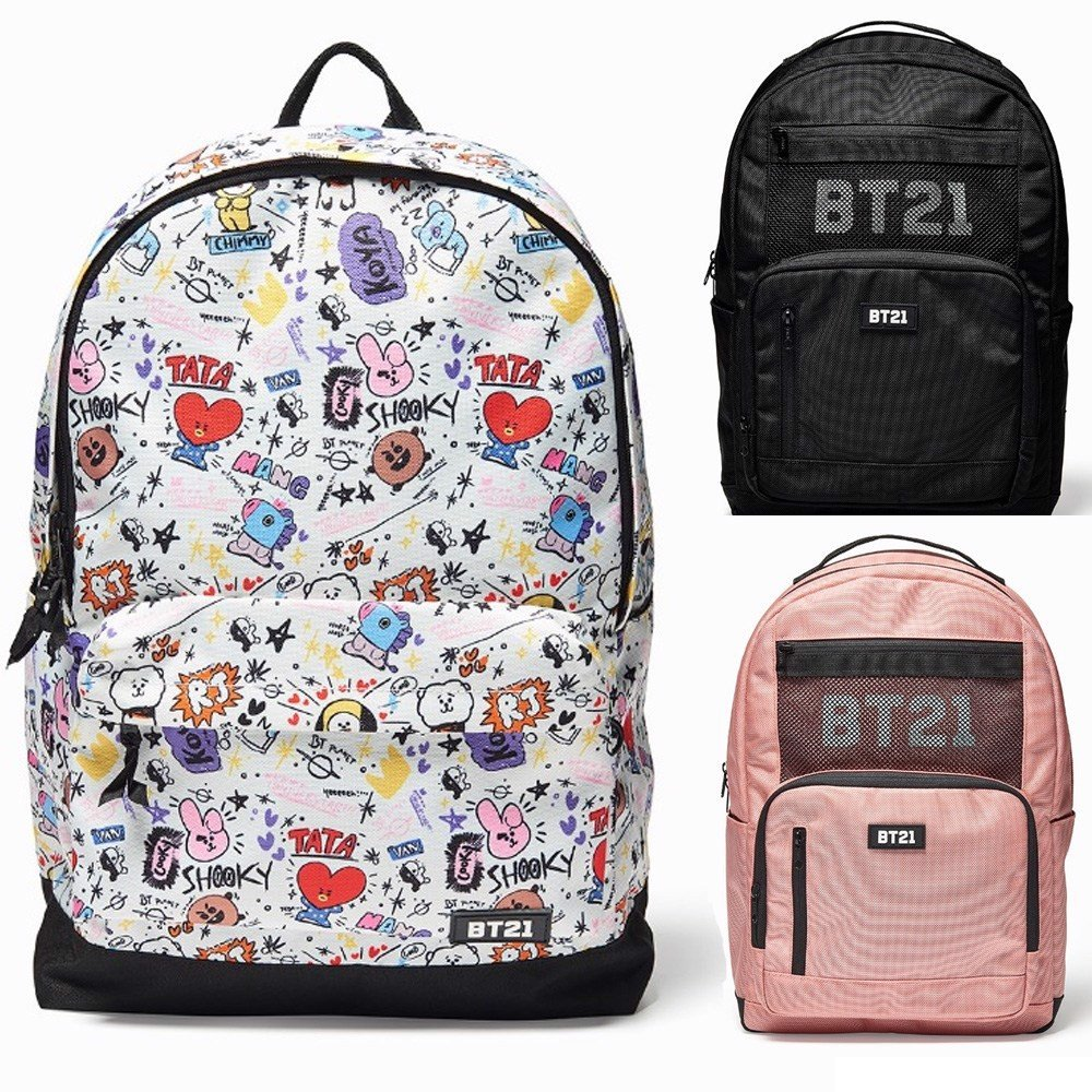 bt21 official backpack balo bt21