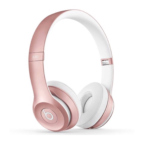Beats solo3 wireless on-ear headphones ( Rose Gold)
