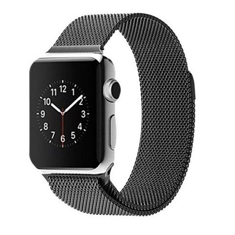 Apple Watch SERIE 2 (42mm) Stainless Steel Case with Milanese Loop (MNP62)