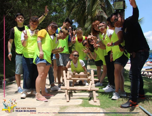 Together We Win - Team Building Nha Trang