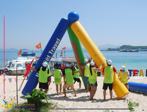 The Power Of Solidarity | Team Building Nha Trang