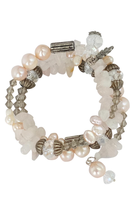 Bridget Rose Quartz Bracelet
