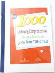 JIM TOEIC 1000 LISTENING COMPREHENSION (Kèm CD)