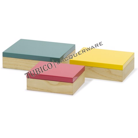 Lacquer storage box (set of 3)