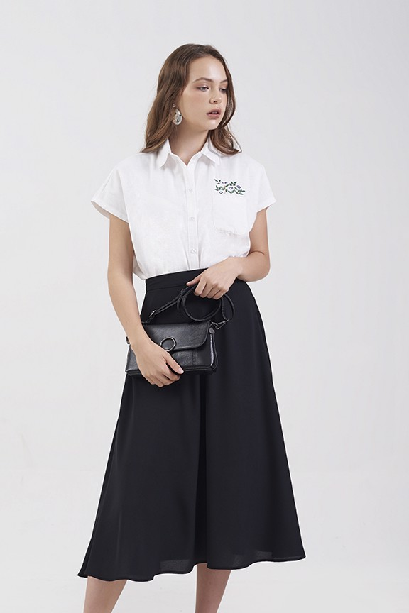 Váy midi basic fall 18