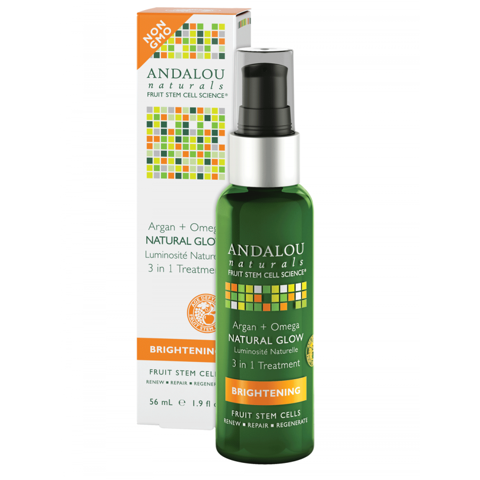 Dầu Argan + Omega Natural Glow 3 in 1 Andalou
