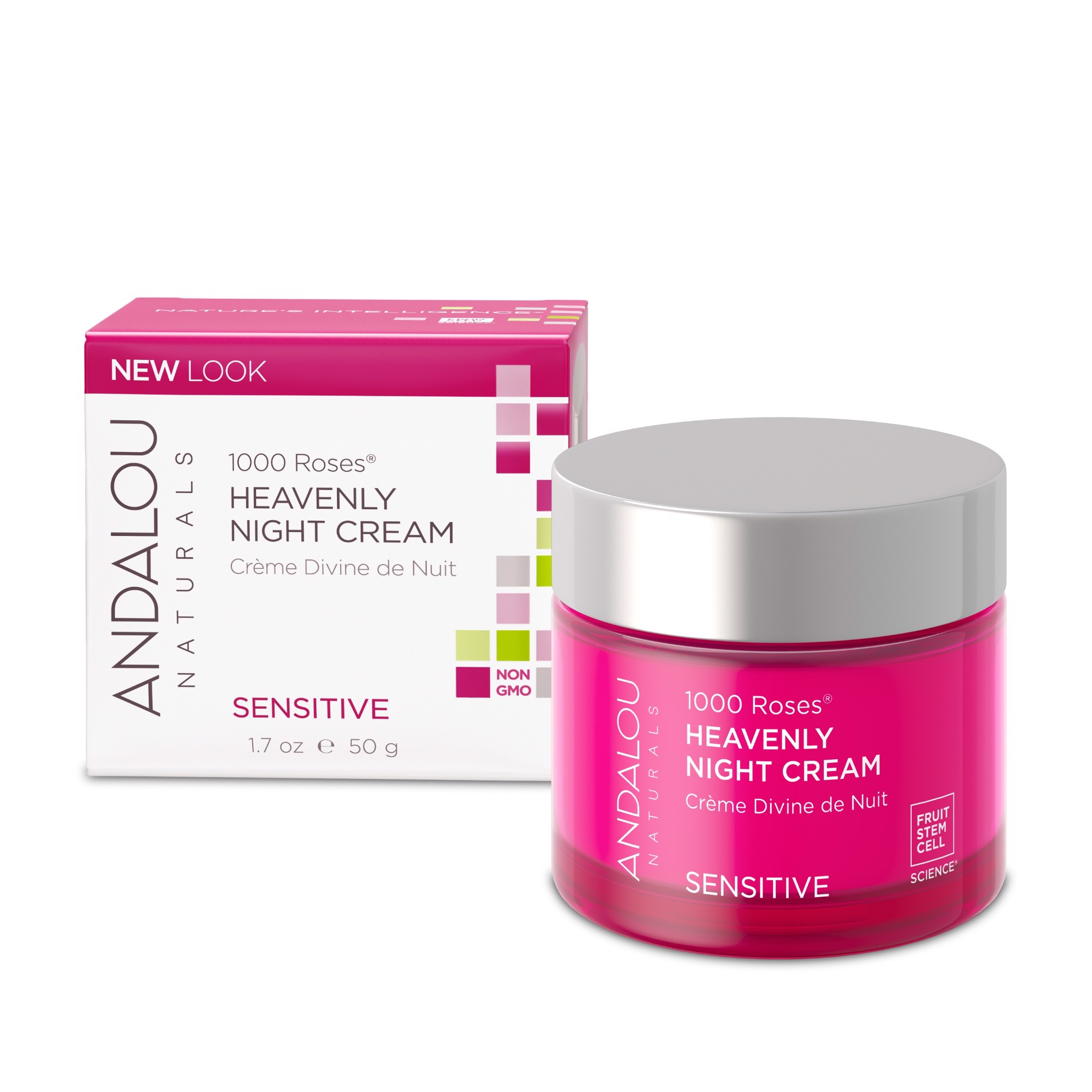 Kem dưỡng da ban đêm 1000 Roses™ Heavenly Night Cream Andalou