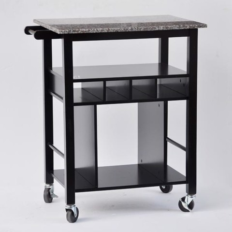 Granite Kitchen Cart<br/>IDT4147