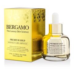 Serum Bergamo Premium Gold Wrinkle Care Ampoule 30ml