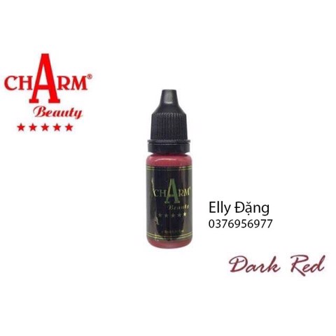 mực Charm Dark Red