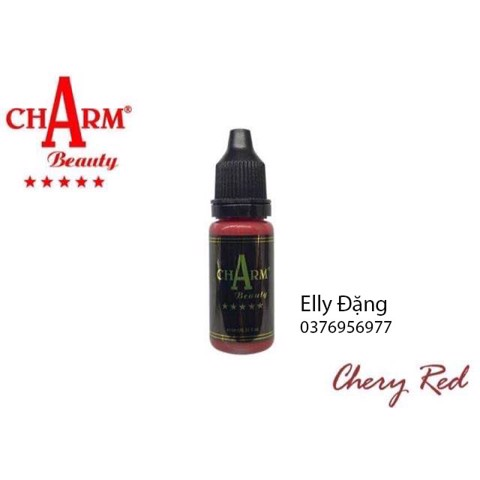 mực Charm cherry red