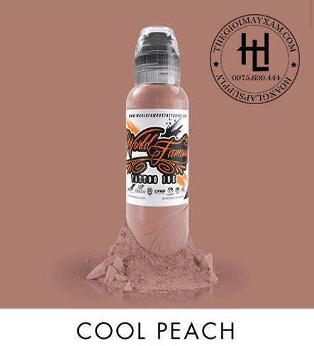 MỰC XĂM WORLD FAMOUS COOL PEACH ( 15ml )