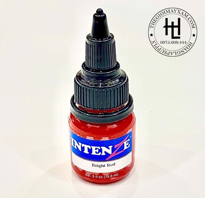 MỰC XĂM HÌNH INTENZE BRIGHT RED ( 15ml )